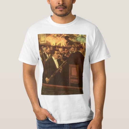 The Orchestra of Opera by Edgar Degas, Vintage Art T-Shirt