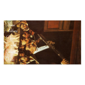 'The Orchestra of the Opera' Double-Sided Standard Business Cards (Pack Of 100)