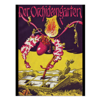 The Orchid Garden RESTORED Cover Issue One Post Card