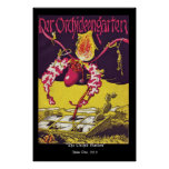 The Orchid Garden RESTORED Cover Issue One Poster