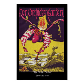 The Orchid Garden RESTORED Cover Issue One Posters