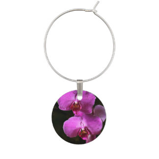 The Orchids Set of 4 Wine Charms