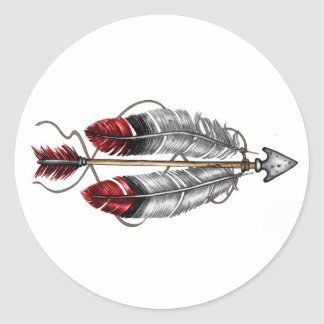 The Order of the Arrow Classic Round Sticker