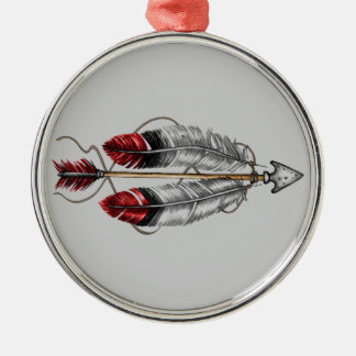 The Order of the Arrow Metal Ornament