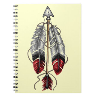 The Order of the Arrow Spiral Notebook