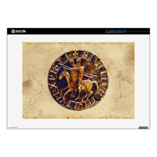 The Order of the Templar Knights Laptop Skins