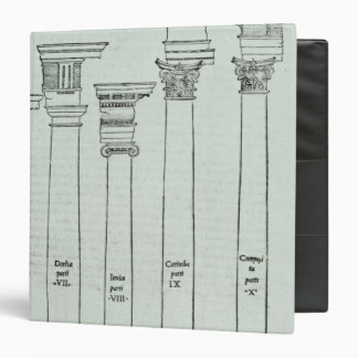 The Orders of Architecture Binders