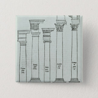 The Orders of Architecture Pinback Button