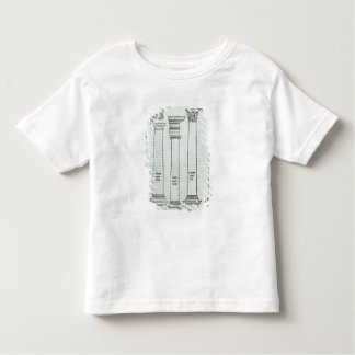 The Orders of Architecture Toddler T-shirt