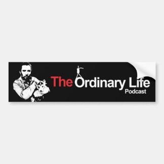 The Ordinary Life Show Bumper Sticker
