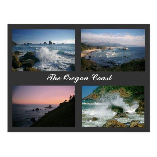 The Oregon Coast postcard
