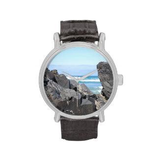 The Oregon Coast Rocks Waves Wristwatch