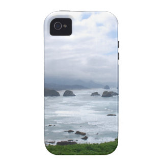 The Oregon Coast Weather Vibe iPhone 4 Case