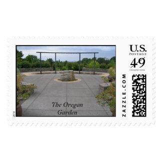 The Oregon Garden, Fountain View Postage