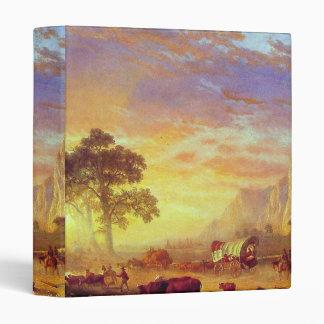 The Oregon Trail - Albert Bierstadt Binder