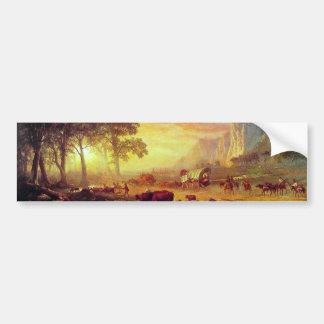 The Oregon Trail,  Albert Bierstadt Bumper Sticker