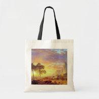 The Oregon Trail - Albert Bierstadt Canvas Bag