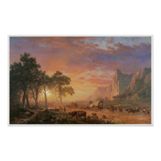 THE OREGON TRAIL POSTERS