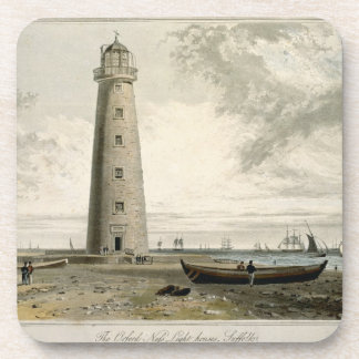 The Orford Nefs Lighthouses, Suffolk, from Volume Beverage Coasters