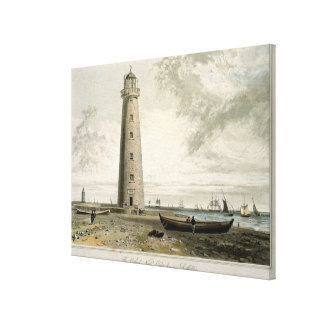 The Orford Nefs Lighthouses, Suffolk, from Volume Canvas Print
