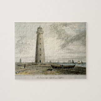The Orford Nefs Lighthouses, Suffolk, from Volume Jigsaw Puzzle