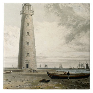 The Orford Nefs Lighthouses, Suffolk, from Volume Large Square Tile