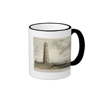 The Orford Nefs Lighthouses, Suffolk, from Volume Ringer Coffee Mug