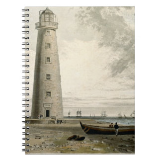 The Orford Nefs Lighthouses, Suffolk, from Volume Spiral Note Book