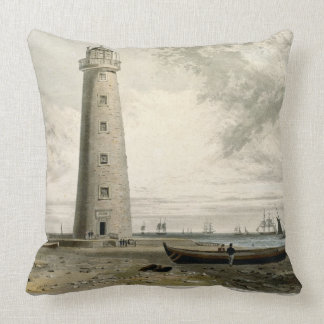 The Orford Nefs Lighthouses, Suffolk, from Volume Throw Pillows