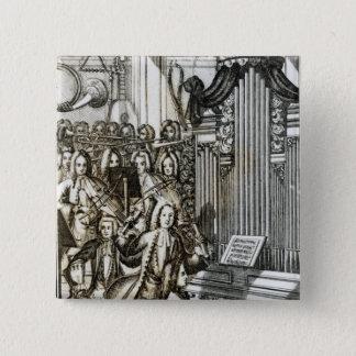The Organ Recital Pinback Button