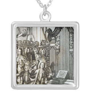The Organ Recital Silver Plated Necklace