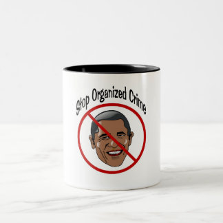 The Organizer Two-Tone Coffee Mug