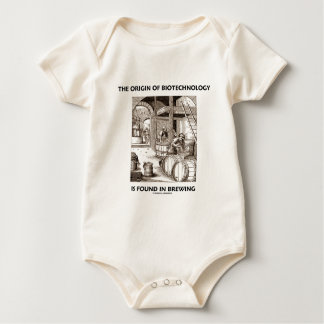 The Origin Of Biotechnology Is Found In Brewing Baby Bodysuit
