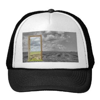The origin of crop circle. trucker hat