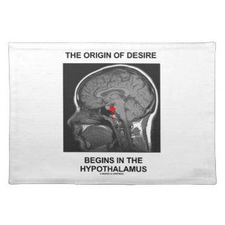 The Origin Of Desire Begins In the Hypothalamus Place Mat