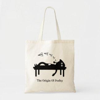 The Origin Of Poetry Tote Bag