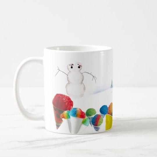 The Origin of Snowcones Coffee Mug