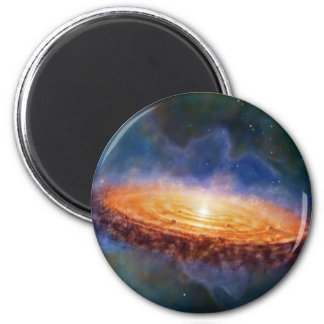 The Origin of the Solar System 2 Inch Round Magnet