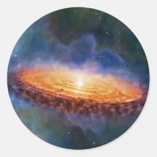 The Origin of the Solar System Classic Round Sticker