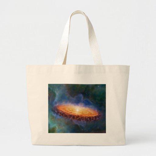 The Origin of the Solar System Jumbo Tote Bag