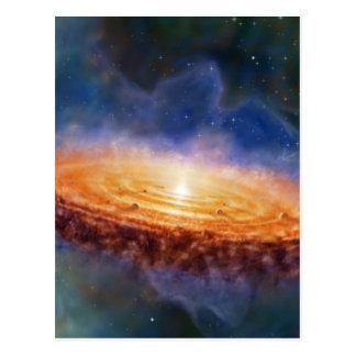 The Origin of the Solar System Postcard