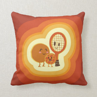 The origin of  the waffle throw pillow