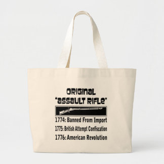 The Original Assault Rifle  In 1774 Tote Bags