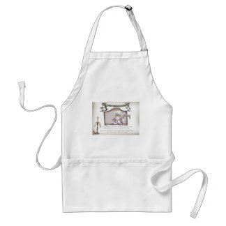 The Original Bakewell Pudding.tif Adult Apron