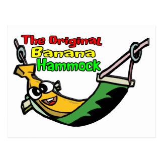 The Original Banana Hammock Postcard