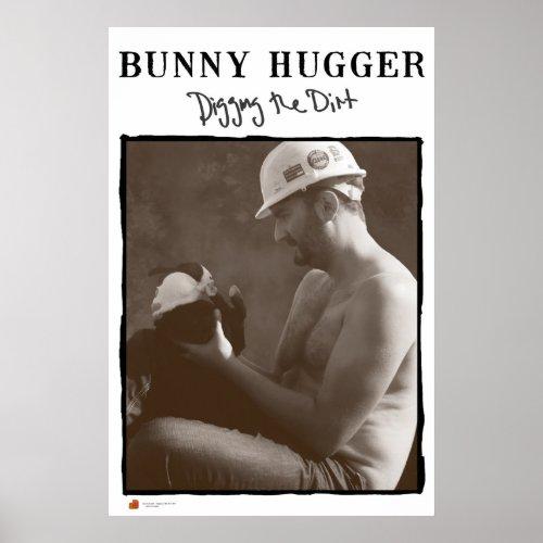 The Original Bunny Hugger print