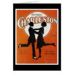 The Original Charleston Vintage Song Sheet Cover Greeting Card