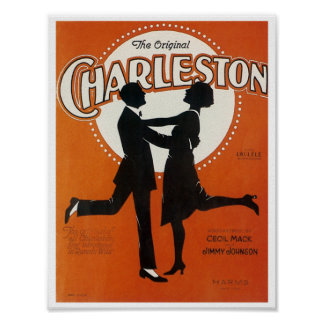 The Original Charleston Vintage Song Sheet Cover Posters