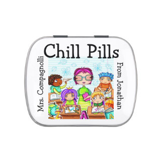The Original Chill Pills - Jelly Beans - SRF Jelly Belly Candy Tin