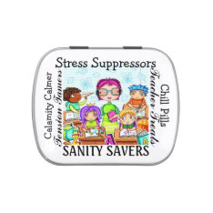 The Original Chill Pills - Jelly Beans - SRF Jelly Belly Tin at Zazzle